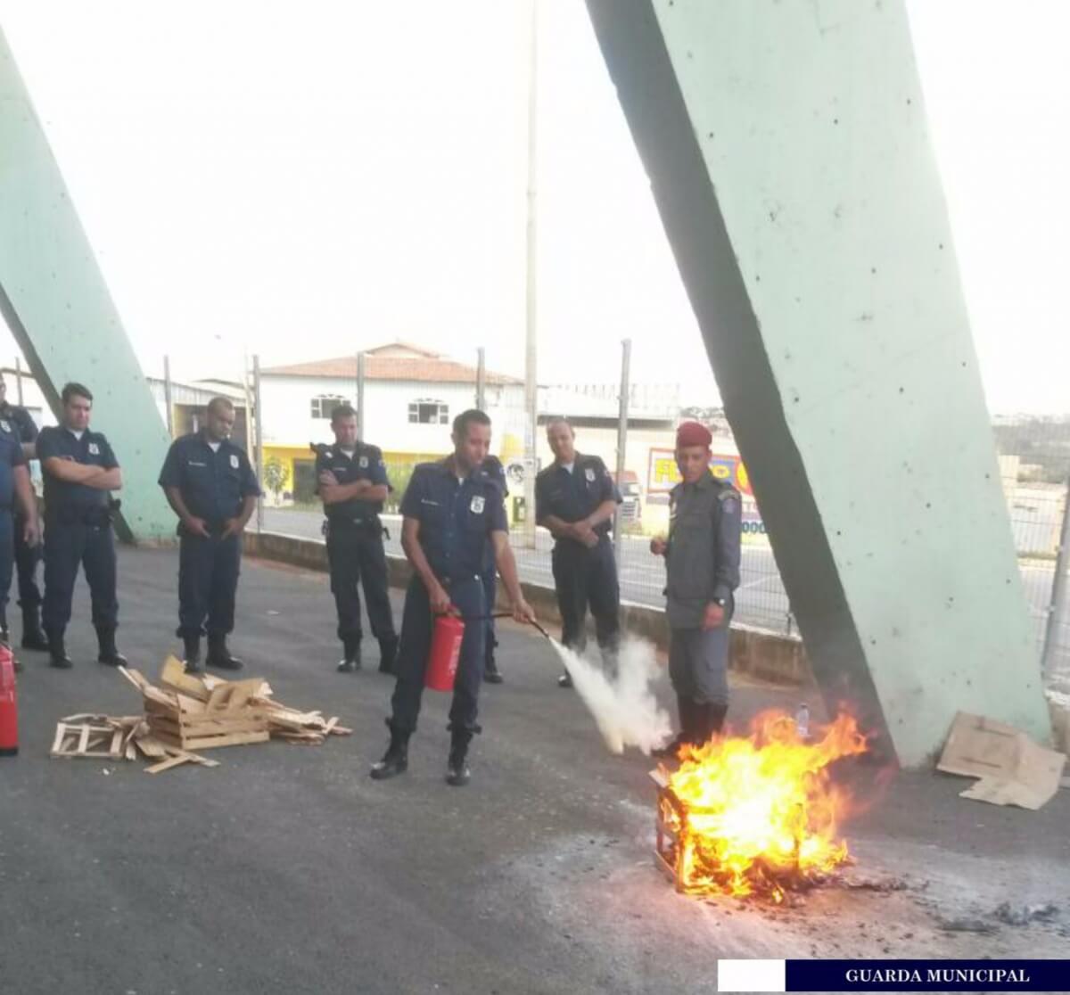 Imagem de destaque Guarda Municipal realiza curso de Brigada de Incêndio